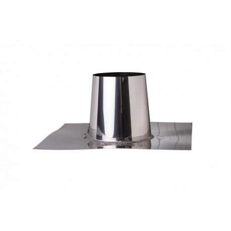 Platdakdoorvoer RVS 0-5 graden 150 mm