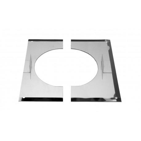 Centreerplaat 2-delig 150 mm
