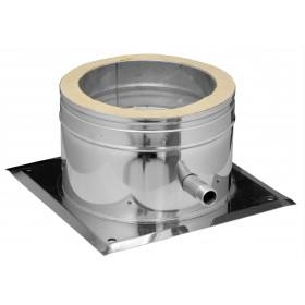Ondersteuning met condensuitloop 180 mm