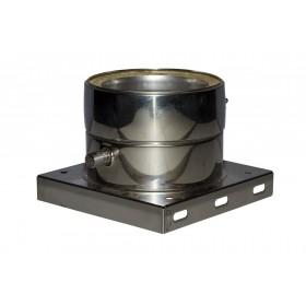 Ondersteuning met  condensuitloop 35 mm 200 mm