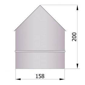 Hoeknisbus voor buitenhoek 150 mm