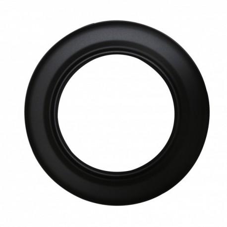 Rozet ø 150 mm zwart