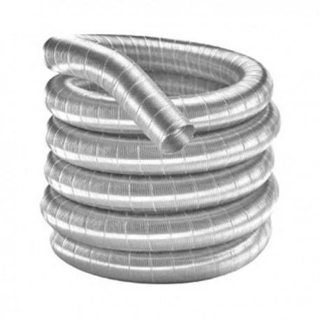 Flexibel enkelwandig 100 cm 150 mm