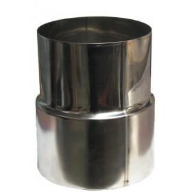 Adapter voor flexibele pijp 150 mm