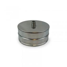 T-stuk deksel 130 mm
