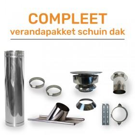 Compleet Veranda Pakket  Schuindak Ø150 mm