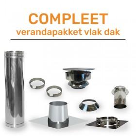 Compleet Veranda Pakket  Ø150 mm