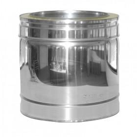 Rechte pijp sectie L: 14 cm ø 130mm