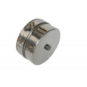 Deksel met condensuitloop 35 mm ø130 mm